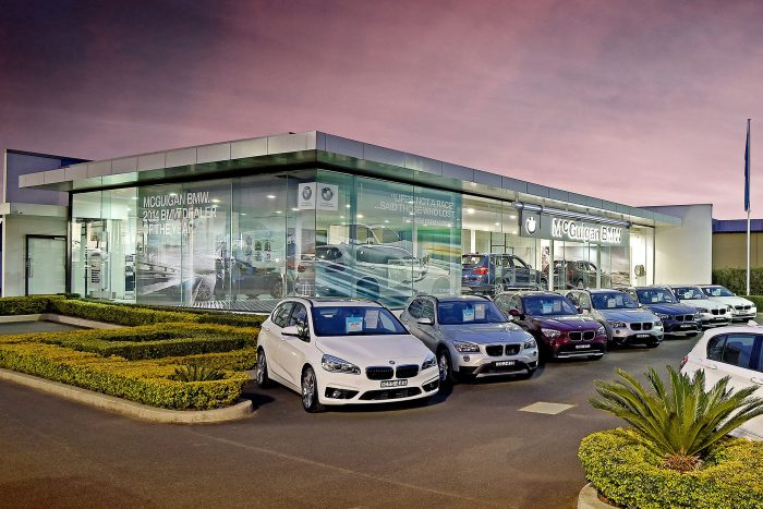 McGuigan BMW Showroom