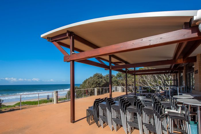 Tacking Point Surf Life Saving Club new covered deck