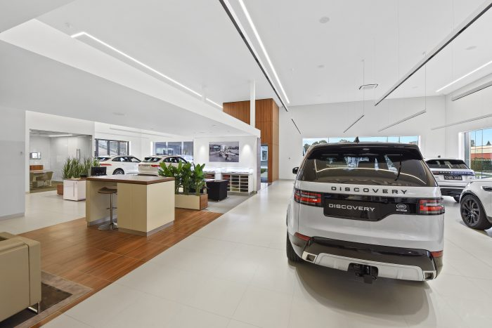 Port Macquarie Jaguar Land Rover showroom